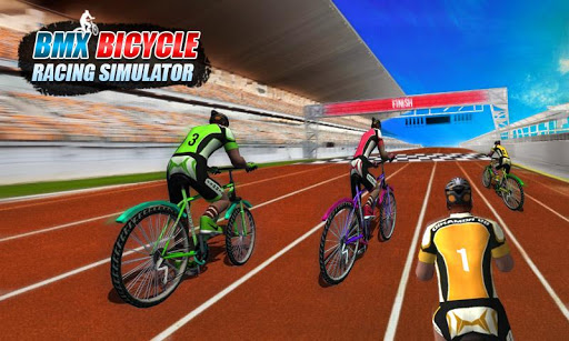 BMX Bicycle Racing Simulator screenshot 1