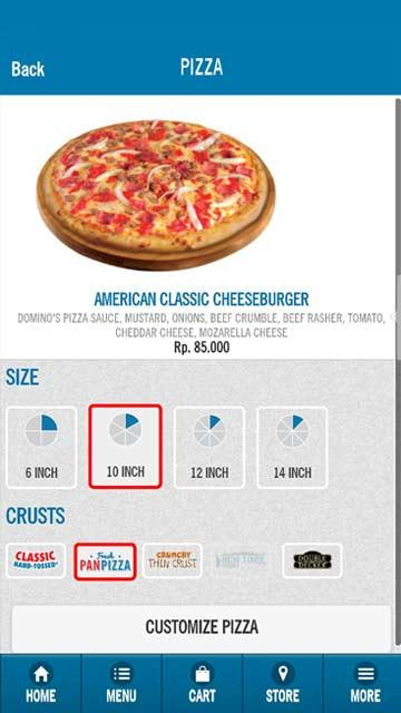 Domino's Pizza Indonesia- screenshot
