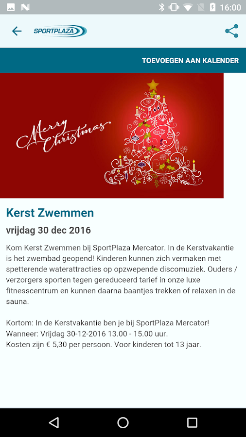 SportPlaza Mercator- screenshot