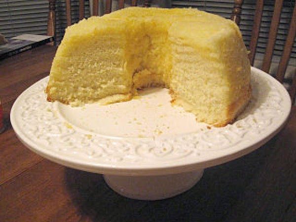 Lemon Chiffon Cake With Lemon Butter Icing Recipe