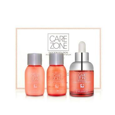 韓國LG 旗下品牌Care Zone 舒顏凈膚控油祛痘精華素 套餐裝