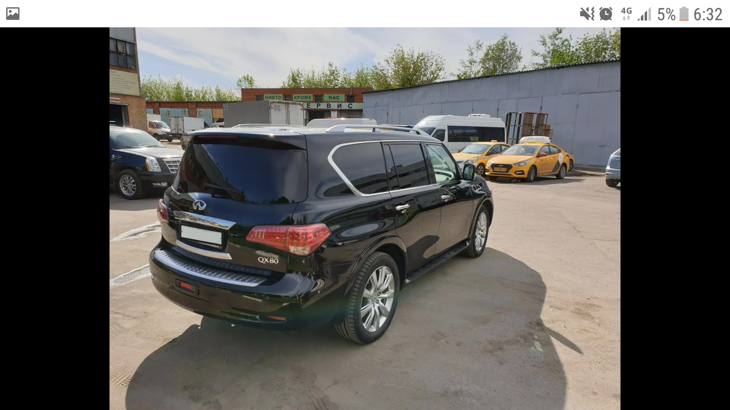 INFINITI QX80 в Хабаровске