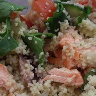Salmon Cous-cous Salad