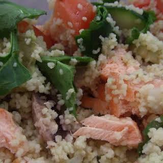 Salmon Cous-cous Salad.