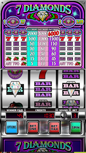 Seven Diamonds Deluxe : Vegas Slot Machines Games 3.1.2 screenshots 3