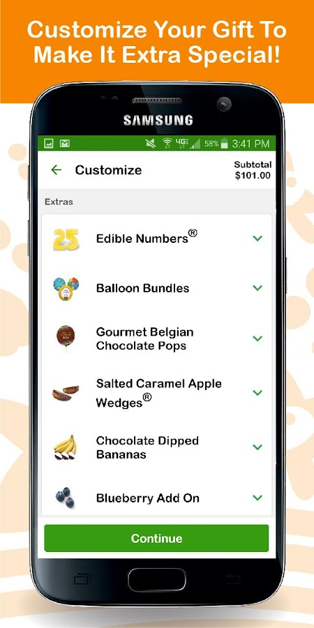 Edible Arrangements- screenshot