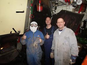 Photo: Dennis B., Dennis van S. en Paul H. voor al uw ketelreinigingen