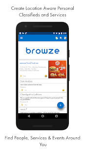 Browze - community noticeboard- screenshot thumbnail