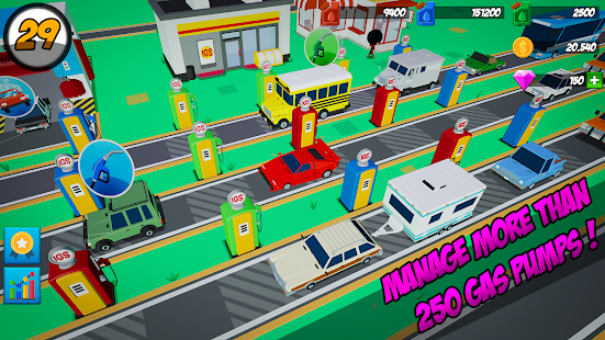 Download Idle Gas Station For PC Windows and Mac apk screenshot 2