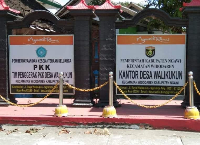 Profile desa walikukun Kabupaten Ngawi