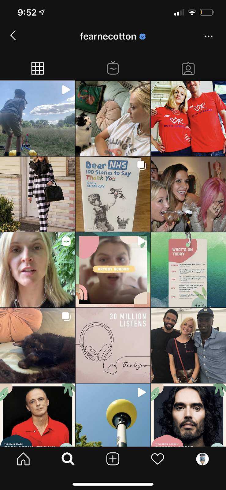 no filter instagram theme