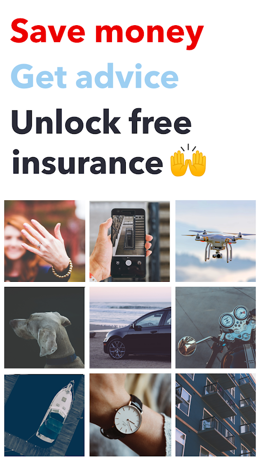 Cover - Insurance in a snap- screenshot