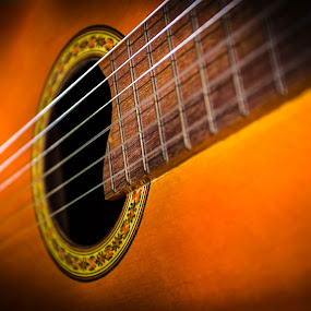 Spanish Guitar by George Bloise - Artistic Objects Musical Instruments ( music, flamenco, spanish, guitar, classic )