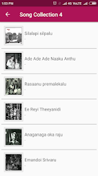 Telugu Old Songs Collection APK screenshot thumbnail 3