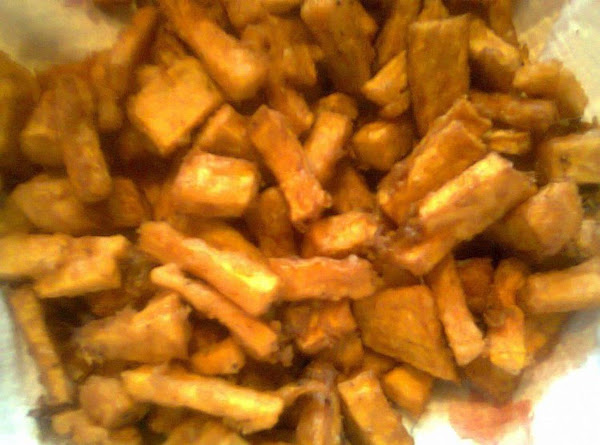 Fried Sweet Potato Tidbits Recipe