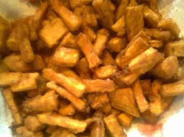 Fried Sweet Potato Tidbits