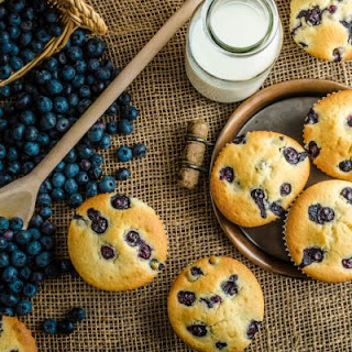 Bakery-Quality Blueberry Muffins