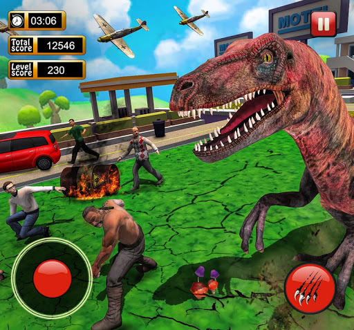 Monster Dinosaur Simulator: City Rampage screenshots 10