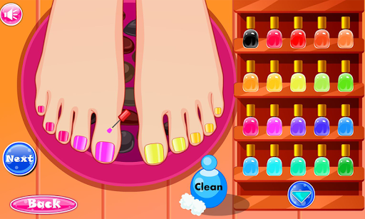 Princess Pedicure Nail Salon 1.0.10 screenshots 2