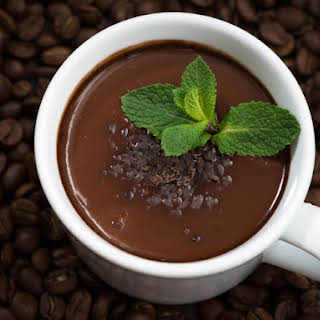 Chocolate Mint Coffee Creamer.