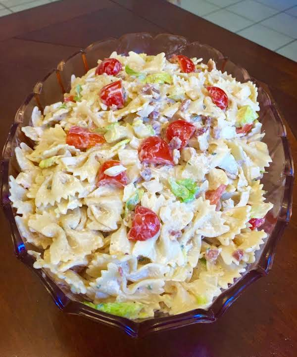 Zesty Blt Pasta Salad
