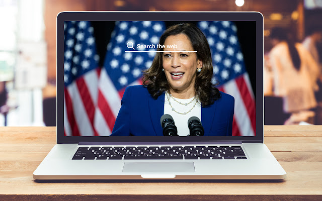 Kamala Harris HD Wallpapers Voting Theme