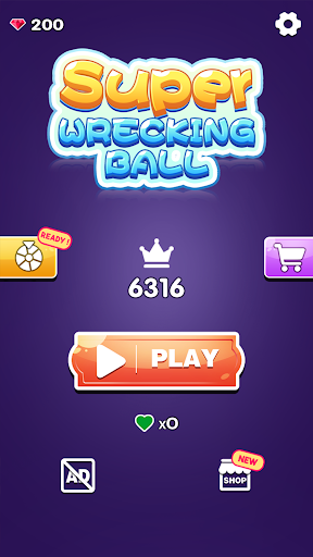 Super Wrecking Ball - screenshot
