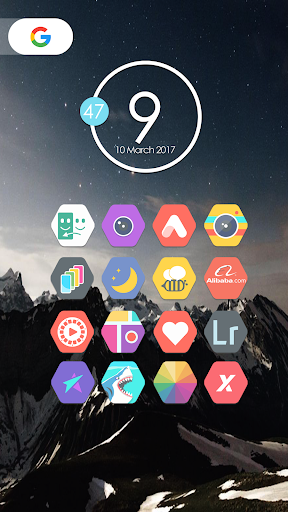 Android için Zirex - Icon Pack Uygulamalar screenshot