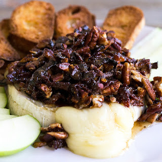 Bacon Pecan Baked Brie.