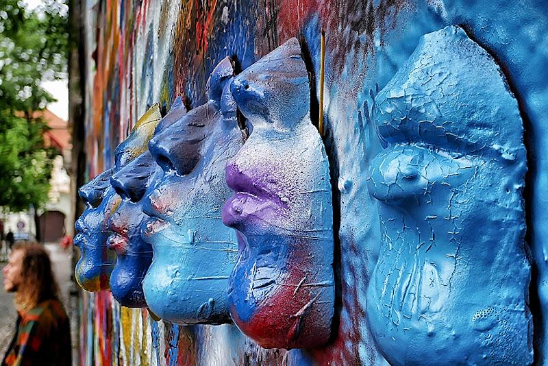 Le maschere di Lenon di Dongi