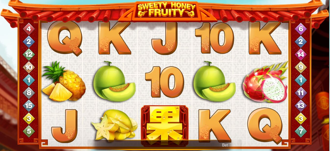Play Sweety Honey Fruity by Netent for Real Money at Scatters Casino