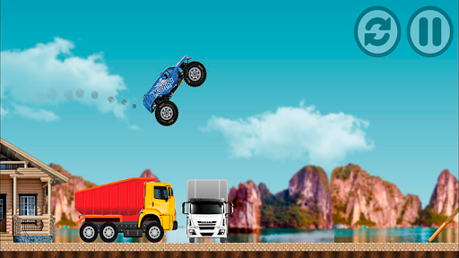 Monster Pickup Truck the monster jam kids games 7.8 screenshots 5