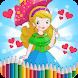 Princess Coloring Book For Free