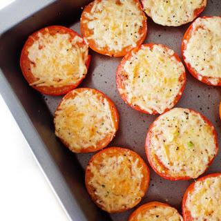 Simple Parmesan Roasted Tomatoes