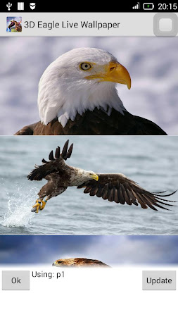 3D Eagle Live Wallpaper 10 Screenshot 1173696