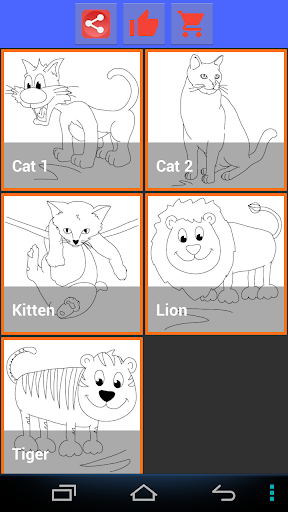 Drawing For Kids Cats