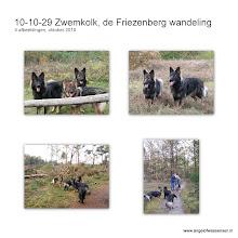 Photo: De blauwe route volgt naar de Friezenberg