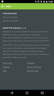 HideIPVPN- screenshot thumbnail