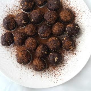 Choc-Peanut Butter Truffle Bites