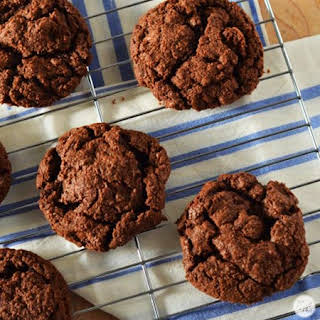Double Chocolate Cookies.