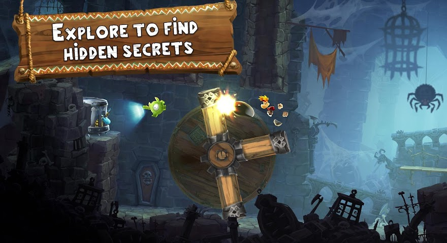 android Rayman Adventures Screenshot 3