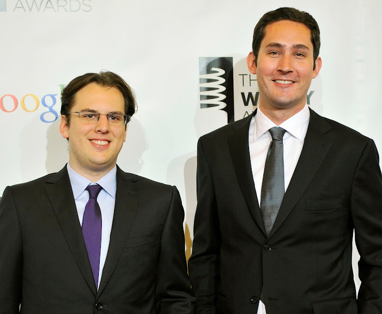 Systrom and fellow co-founder Mike Krieger