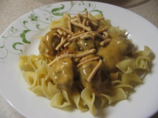 Mini Meatball Stroganoff Recipe