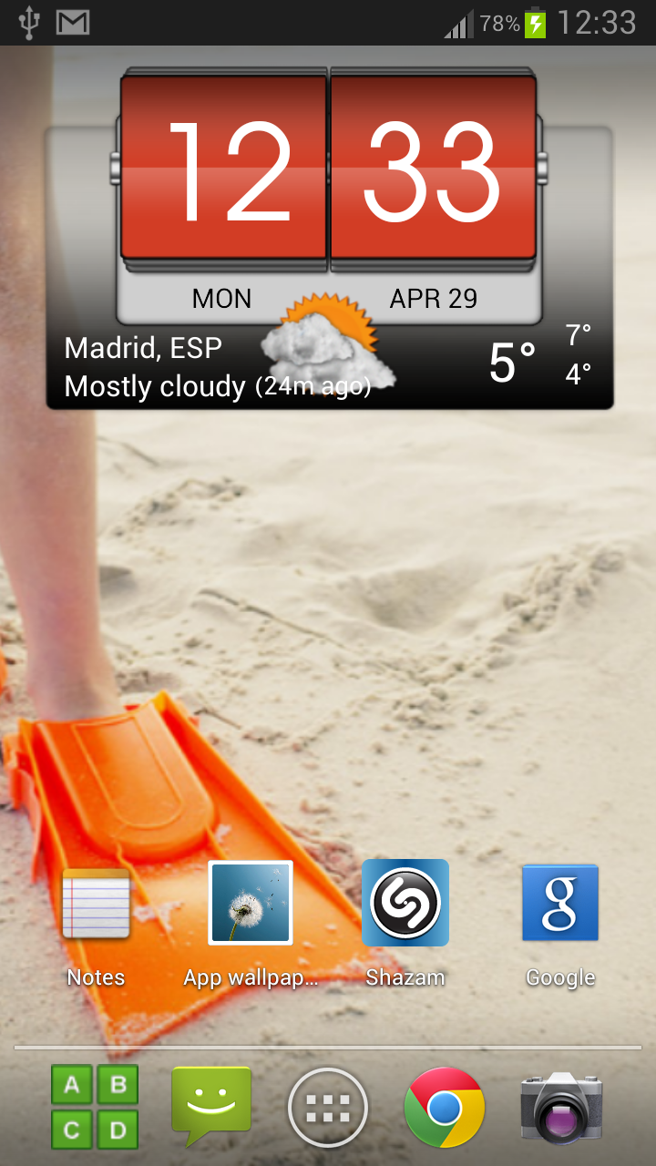 3D Flip Clock & Weather Pro Screenshot 1