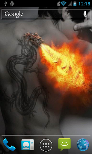 Tattooed dragon Live WP