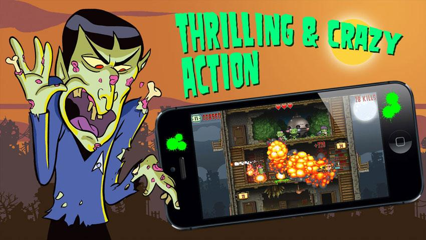 Crazy Bill: Zombie stars hotel- screenshot