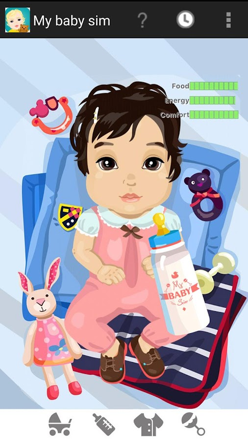 My Baby Sim - childcare game- screenshot