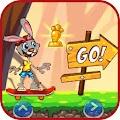 Looney Rabbit world toons skat Bunny