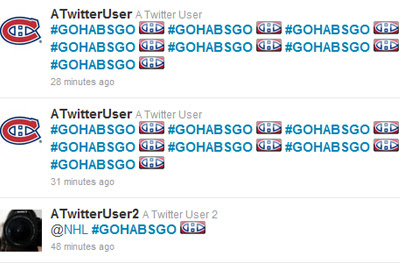 #GoHabsGo Twitter Highlighter