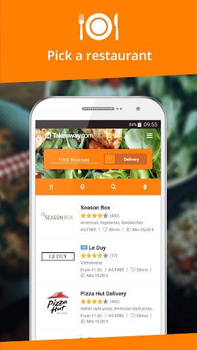 Takeaway.com - Belgium for Android apk 2